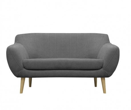 Canapea 2 locuri Sardaigne  Grey Blue