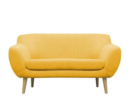 Canapea 2 locuri Sardaigne  Yellow
