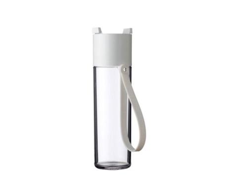 Αθλητικό μπουκάλι Justwater White 500 ml