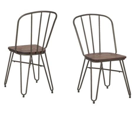 Sada 2 židlí Detroit Classic