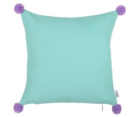 Povlak na polštář Clover Blue and Purple 41x41 cm