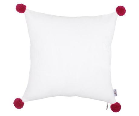 Povlak na polštář Clover White and Red 41x41 cm