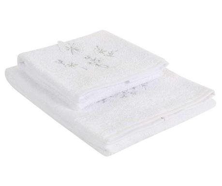 Kelebek White 2 db Fürdőszobai törölköző