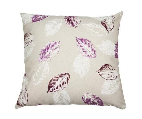 Poduszka dekoracyjna Purple Leaves 60x60 cm