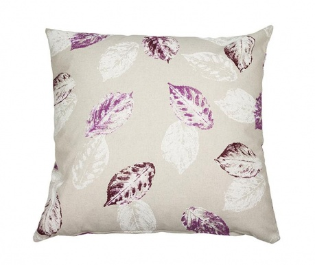 Dekoračný vankúš Purple Leaves 60x60 cm