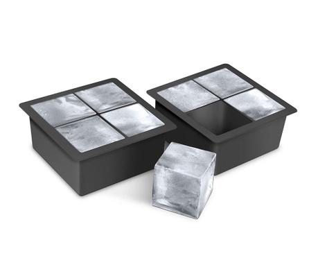 Zestaw 2 tacek na kostki lodu Jumbo