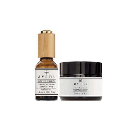 Zestaw serum przeciw starzeniu  pod oczy i silnie nawilżający krem Limited Deluxe