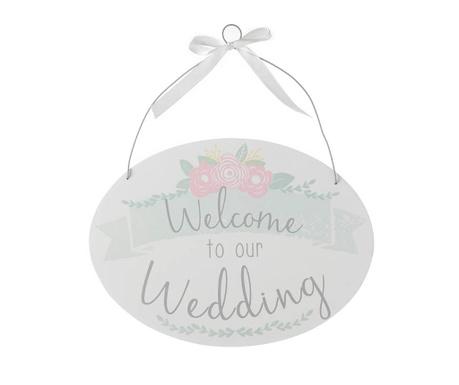 Závesná dekorácia Our Wedding
