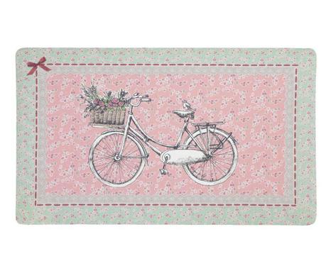 Wycieraczka Bicycle with Basket 44x74 cm