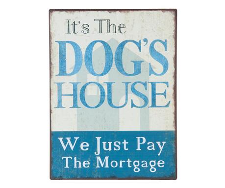 Dekoracja ścienna Dog's House