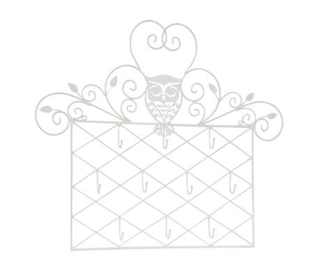 Nástenný držiak šperkov Owl
