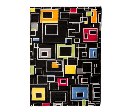 Koberec Artistic Squares Black