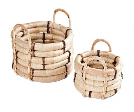 Set of 2 baskets Buuri