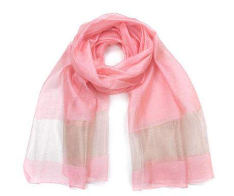 Apaszka Fine Pink 70x196 cm