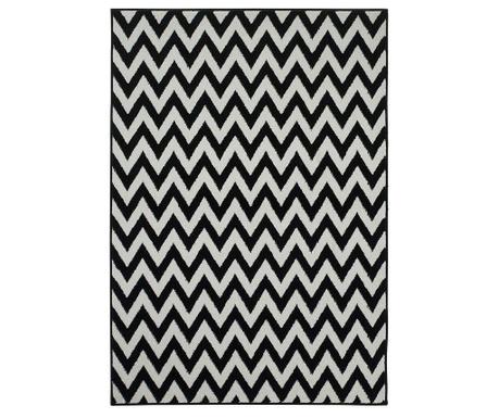 Koberec Soho Black White 120x170 cm