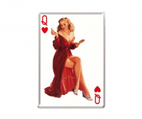 Postcard Queen Of Hearts
