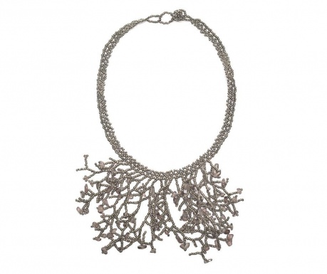 Necklace Silver Pewter