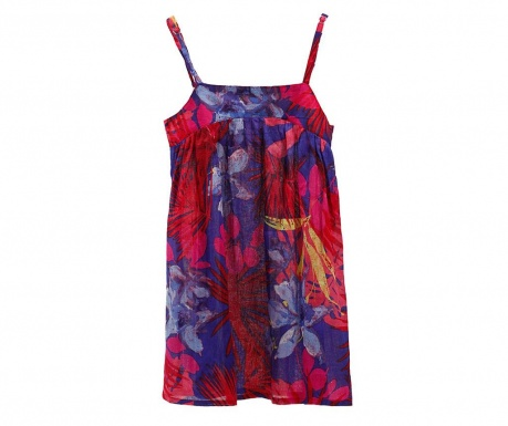 Dress Indigo Flowers