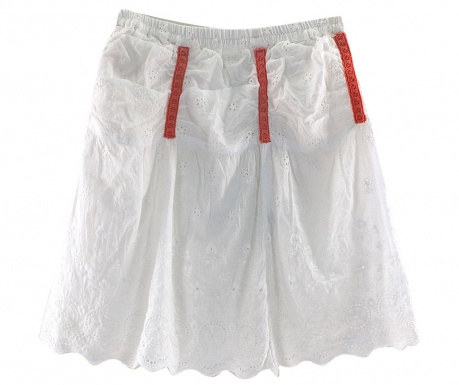 Spódnica Simple White 8 lat