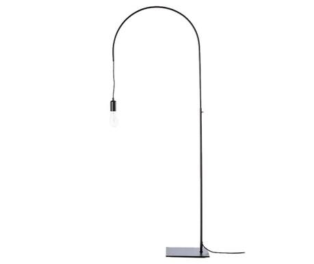 Floor lamp Atene Black