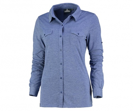 Koszula damska Faria Cobalt