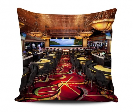 Decorative cushion Casino 43x43 cm