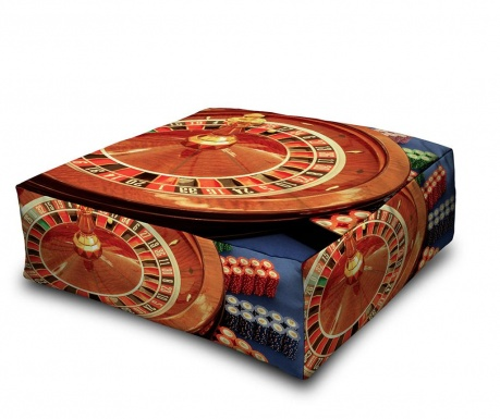 Floor cushion Casino 60x60 cm