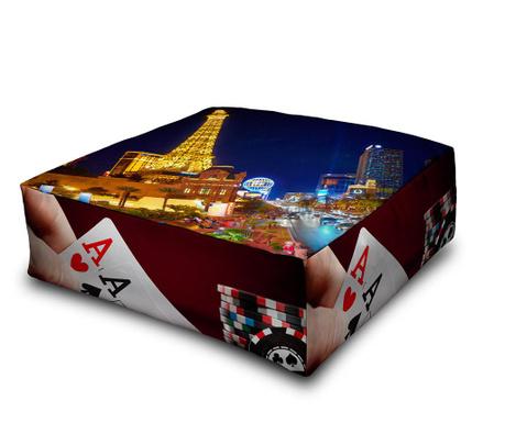 Podlahový vankúš Poker 60x60 cm