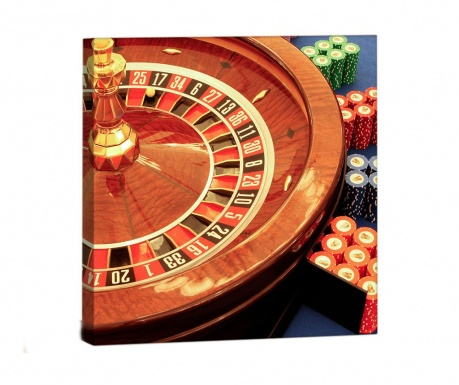 Obraz Roulette 33x33 cm
