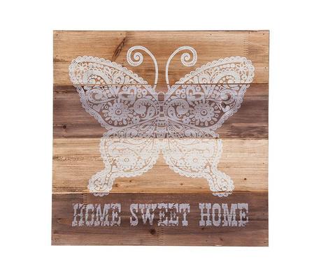 Dekoracja ścienna Butterfly Home