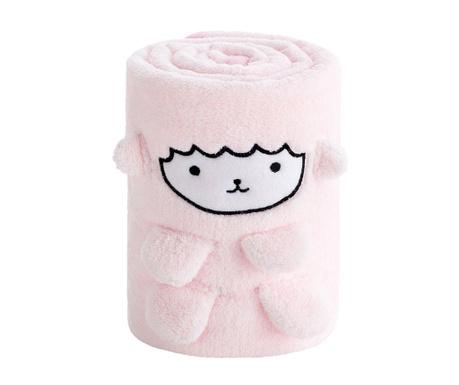Koc Sheep Pink 80x110 cm