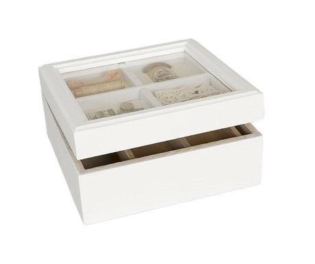 Pudełko na akcesoria do szycia Elenn