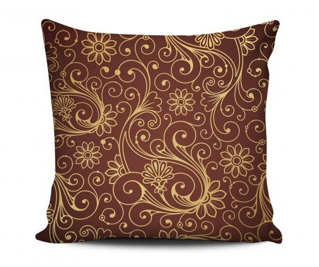 Dekorační polštář Vibrant Swirls 43x43 cm