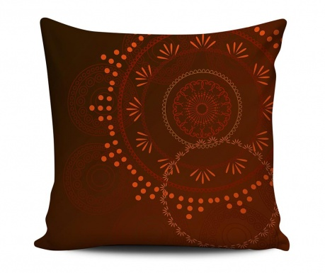 Decorative cushion Red Romance 43x43 cm
