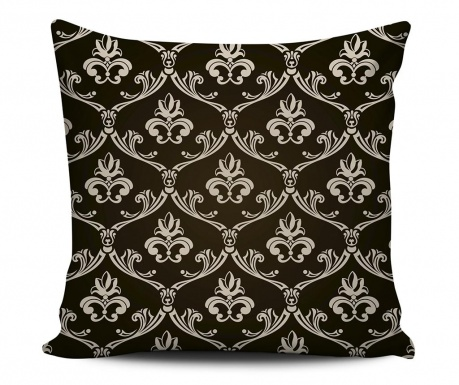 Decorative cushion Royal Black 43x43 cm