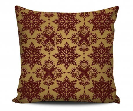 Decorative cushion Fiery Red 43x43 cm
