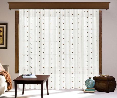 Záclona Kallie 200x260 cm