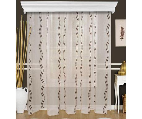 Záclona Evin Black 200x260 cm