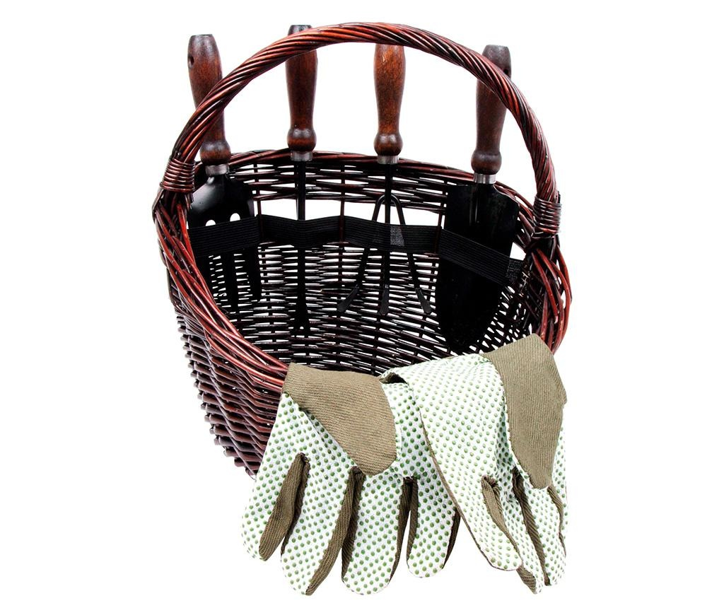 Set de gradinarit pentru copii 6 piese Basket