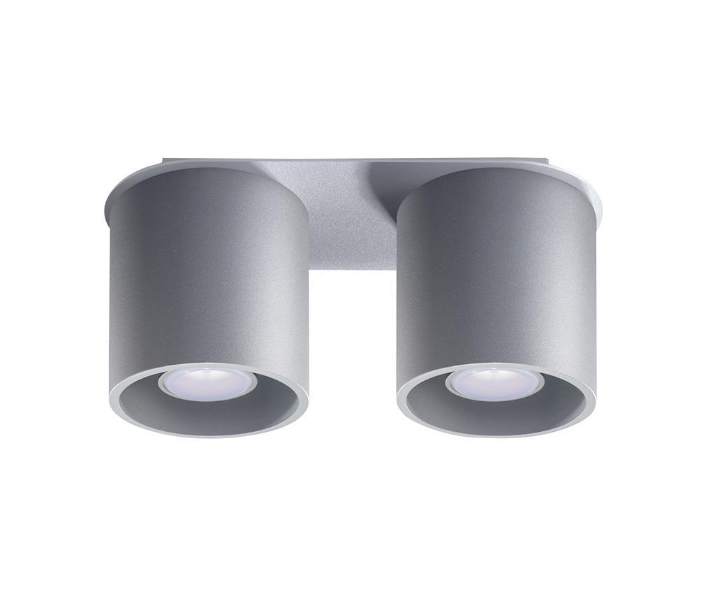 Πλαφονιέρα Roda Two Grey
