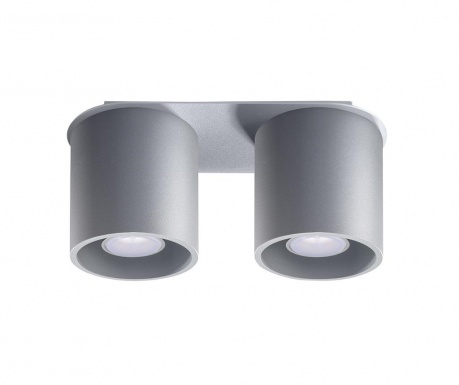 Plafoniera Roda Two Grey