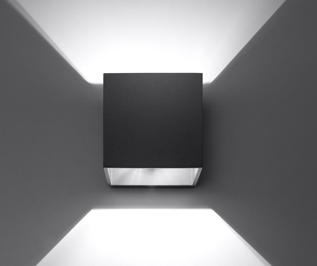 Zidna svjetiljka Geo Black