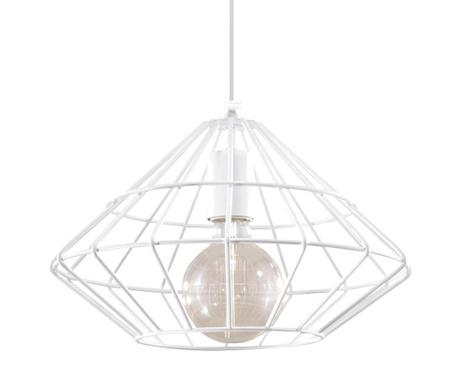 Závěsná lampa Editta White