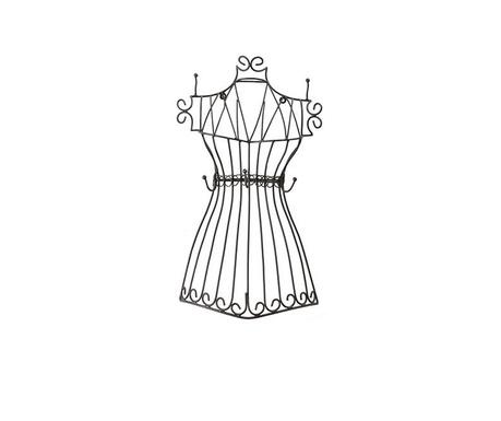 Stojan na šperky Dress