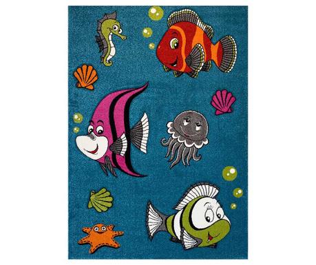 Diamond Kids Fish Turquoise Szőnyeg
