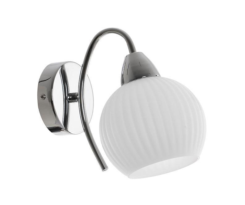 Pavia Chrome White Fali lámpa