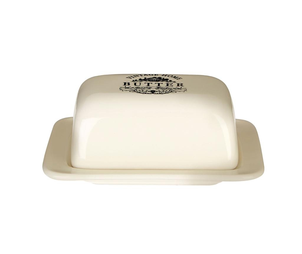 Posoda za maslo Vintage Home Cream