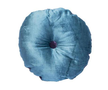 Poduszka dekoracyjna Mignon Velvet Round Blue Purple 30 cm