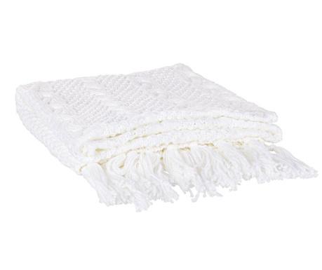 Priročna odeja Tricot Ivory 130x170 cm