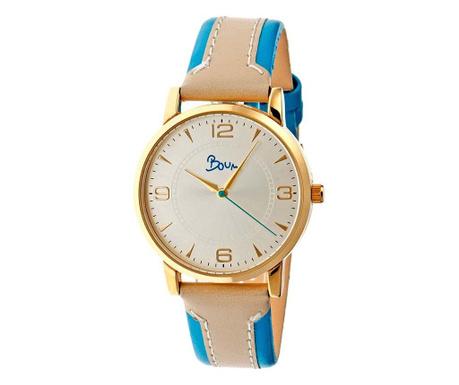Dámské hodinky Boum Contraire Golden Blue